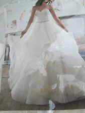 Mori Lee Wedding Dress #5504-  Ivory/Lt. Gold - Size 18