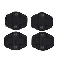 4pcs Black Door Lock Trim Cover Protector Fits For Jeep Wrangler JL 2018 2019