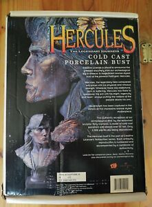 Hercules Ltd 2500 Cold Cast Porcelain Bust w/coa #275 Creative License *OPENED*