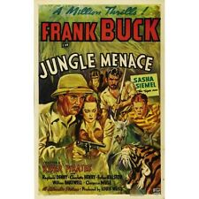 Jungle Menace - Classic Cliffhanger Serial Movie DVD Frank Buck