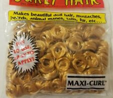 Vintage One & Only Creations Curly Doll Hair Strawberry Blonde Maxi-Curl 03-300