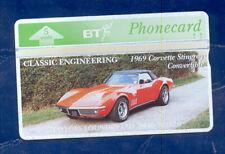 "UNITED KINGDOM: BTG-167 Classic Engineering (5) ""Corvette Stingray"" CN:345D New"