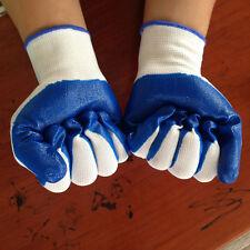 Garden Industrial Work Latex Gloves Nitrile Rubber Wear Skid Oil Resistant Hand