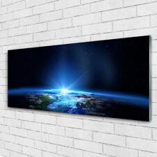 Glasbilder Wandbild Druck auf Glas 125x50 Abstrakt Weltall