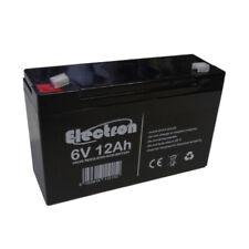 Batterie au plomb rechargeable 6V 12Ah 151 x 51 x 94mm compatible avec 6V 10Ah