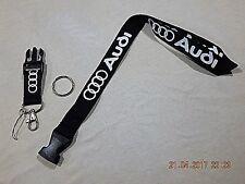 AUDI, lanyard, key strap,neck strap. Ruban porte clés