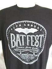 EUC!! Batfest Music Festival Congress Ave Bridge Austin Texas T Shirt Men XL