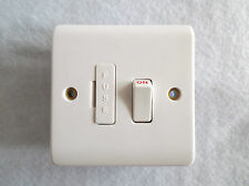 ASHLEY SWITCHED FUSED SPUR 13A  C/W FLEX OUTLET AT BOTTOM IF REQ'D +CORD GRIP