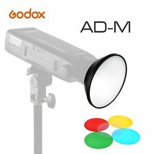 Godox AD-M Standard Reflector with Diffuser Filter for Godox AD-180 AD-360 AD200