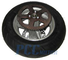 47CC 49CC Mini Pocket Bike 110/50-6.5 Rear Wheel Assembly Tire MTA1 MTA2 H WM19