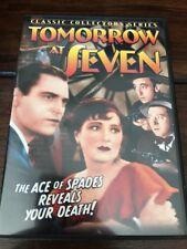 Tomorrow at Seven (DVD, 2004)