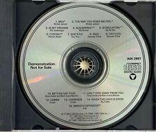 MICHAEL JACKSON - MEGA RARE DEMO PROMO CD 1987 Bad, The Way You Make Me Feel