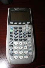 TI-84 Plus Silver Edition Graphing Calculator - Silver - used