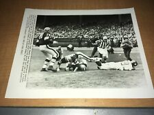 Cleveland Browns vs. New York Giants 1963 AP Football Wire Photo