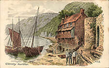 ARQ / Quinton. Clovelly Harbour # 166 by W.McKenzie.
