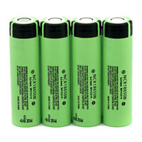 4X 18650 3400mAh Li-ion Rechargeable Battery High Drain NCR18650B for Vape Smok