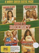 Bring It on BOXSET 2 3 4 5 DVD 4-movies Comedy Kirsten Dunst VGC R4 T70