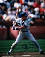 Steve Sax Signed 8X10 Photo Autograph LA Dodgers Road At Bat Auto COA
