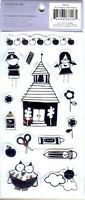 Heidi Grace SCHOOL Rubber Stamp Set for Stamping Crafts