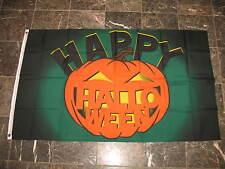 3x5 Happy Halloween Scary Pumpkin Flag 3'x5' Banner Brass Grommets