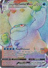 Galarian Darmanitan VMAX - 187/185 - Hyper Rare Vivid Voltage Pokemon NM
