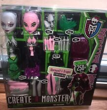Monster High CREATE-A-MONSTER Werewolf & Dragon Brand NEW In Box! RETIRED!
