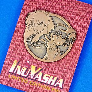 Inuyasha & Kagome Limited Edition Emblem Enamel Pin Anime Manga
