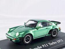 Porsche 911 turbo (930)   1974-1977   grün metallic   /    IXO / ATLAS   1:43