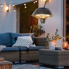 More details for patio ceiling heater hanging indoor tent halogen outdoor electric black 600w