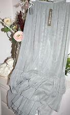 Amandine Skirt Rock Tüll-Rock Transparent Lagenlook Glacia Lang size:2 42-44 Neu