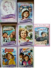 SHIRLEY TEMPLE 6 DVD-DIMPLES-HEIDI-CAPTAIN JANUARY-POOR LITTLE RICH GIRL-OUR....