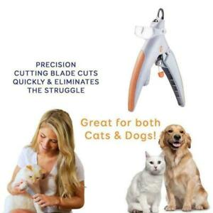 Pet Cat Dog Illuminated Trimmer Nail Lighting Magnification With J7E0