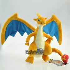 "10"" New Mega Evolution Charizard Y Pokemon Rare Cute Soft Plush Toy Doll^PC2783"