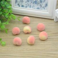 Mini Peach Foam Artificial Fake Fruit Vegetable Home Wedding DIY Decorating Tool
