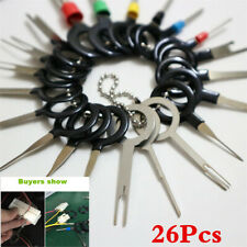 26xTerminal Removal Tool Car Electrical Wiring Crimp Connector Pin Extractor Kit