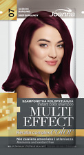 Joanna Multi Effect Keratin Hair Colour Shampoo Dye Sachet 4-8 Washes + GLOVES