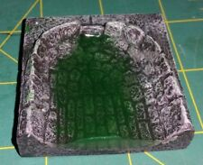 Dwarven forge City Builder Sewer tiles Dead End sluice with water effect