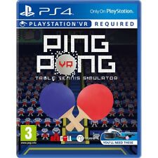 Ping Pong VR Table Tennis Simulaton (sony PlayStation 4 Ps4 Video Game)