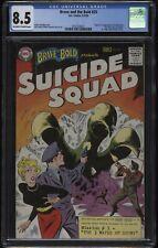 1959 Brave & the Bold #25 1ST App SUICIDE SQUAD Origin KEY CGC 8.5! SILVER AGE!