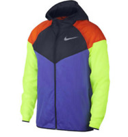 Nike Wind-Runner Full Zip Running Jacket Men's Size Medium AR0257-518 NWT $110