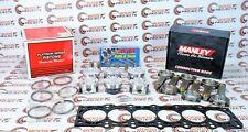 Manley Pistons & Rods & ARP Head Stud Kit w/ Toyota Gasket for Supra 2JZGTE
