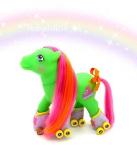 ⭐️ My Little Pony ⭐️ G1 Vintage Euro Rollerskates Hip Hop Stunning!