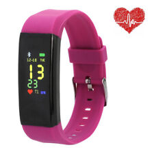 Fitness Heart Rate Smart Watch Activity Tracker Women Men Kids For Android iOS