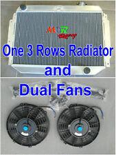 Aluminum radiator for HOLDEN Kingswood HG HT HK HQ HJ HX HZ V8 Chev eng + Fans