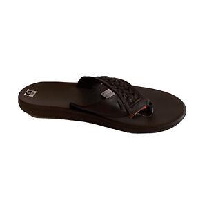Nike Men's Kepa Kai Thong 2 Lea Slip On Slippers  Sz 13 Brown New in  Box