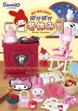 Sanrio My Melody Warm Winter Vacation Complete Box Set - Re-ment .. h#5