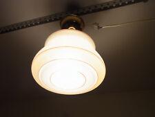 Alte Art Deco Wandlampen oder Deckenlampe Bauhaus Lampe #<