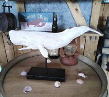 Figurine Mur Cachalot 51cm Style Antique Walfang Moby Épais Maritime Pub