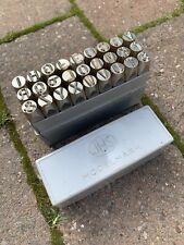 JHS Modelmark 5/16 8mm Stamp Set A-Z
