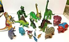 Toy Dinosaur Lot of 20 Action Figures Small to Large &a